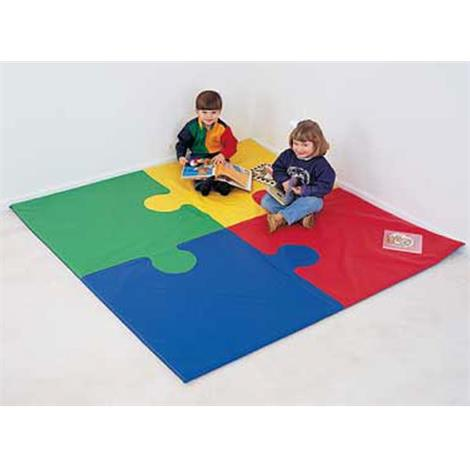 Activity Mats,6ft Round Puzzle Mat,Each,922611