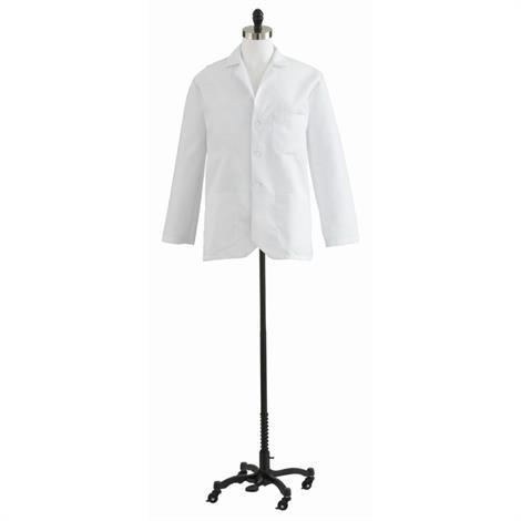 Medline Consultation Coats,Size 34,Each,MDT10WHT34E