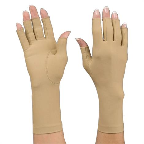 Rolyan Wrist Length Compression Gloves,8