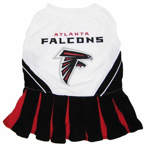 First Atlanta Falcons Cheerleader Dog Dress,Medium,Each,ATL-4007M