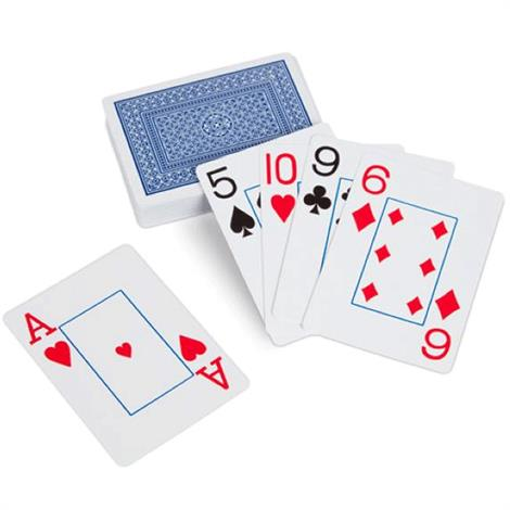 Easy See Playing Cards,Playing Cards,Each,NC29109