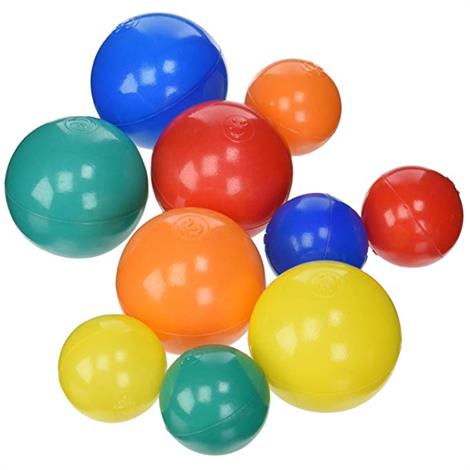 "Sammons Preston Assorted Pool Balls,1,000,3"" Assorted Pool Balls,500/Pack,2Pk/Case,920840X"