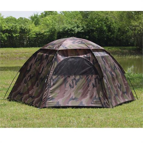 Texsport Camouflage 3 Person Hexagon Dome Tent,Hexagon Dome Tent,Each,1113 - from $47.99