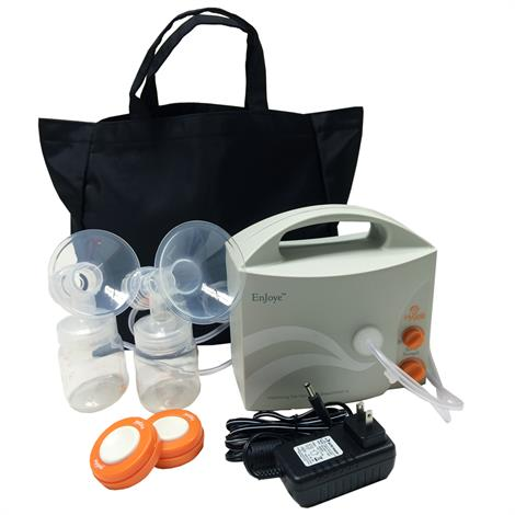 Hygeia Enjoye Double Breast Pump With Personal Accessory Set,24 x 12 x 12,Each,10-0269
