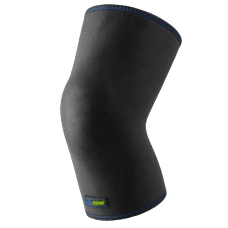 """Actimove Closed Patella Knee Support,Black,Large,18"""" to 20"""",Each,7558630"""