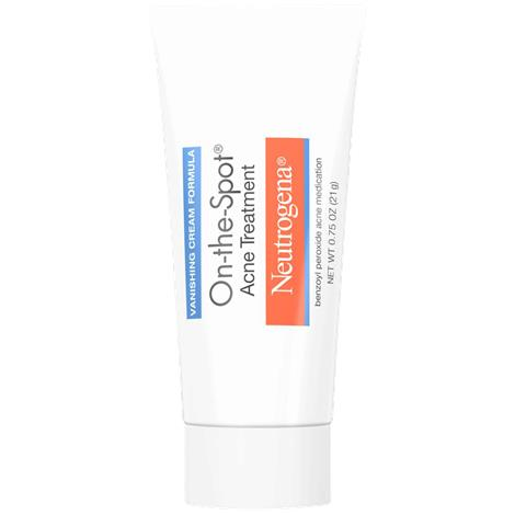 Neutrogena On-the-Spot Acne Treatment,0.75oz Tube,Each,5301790