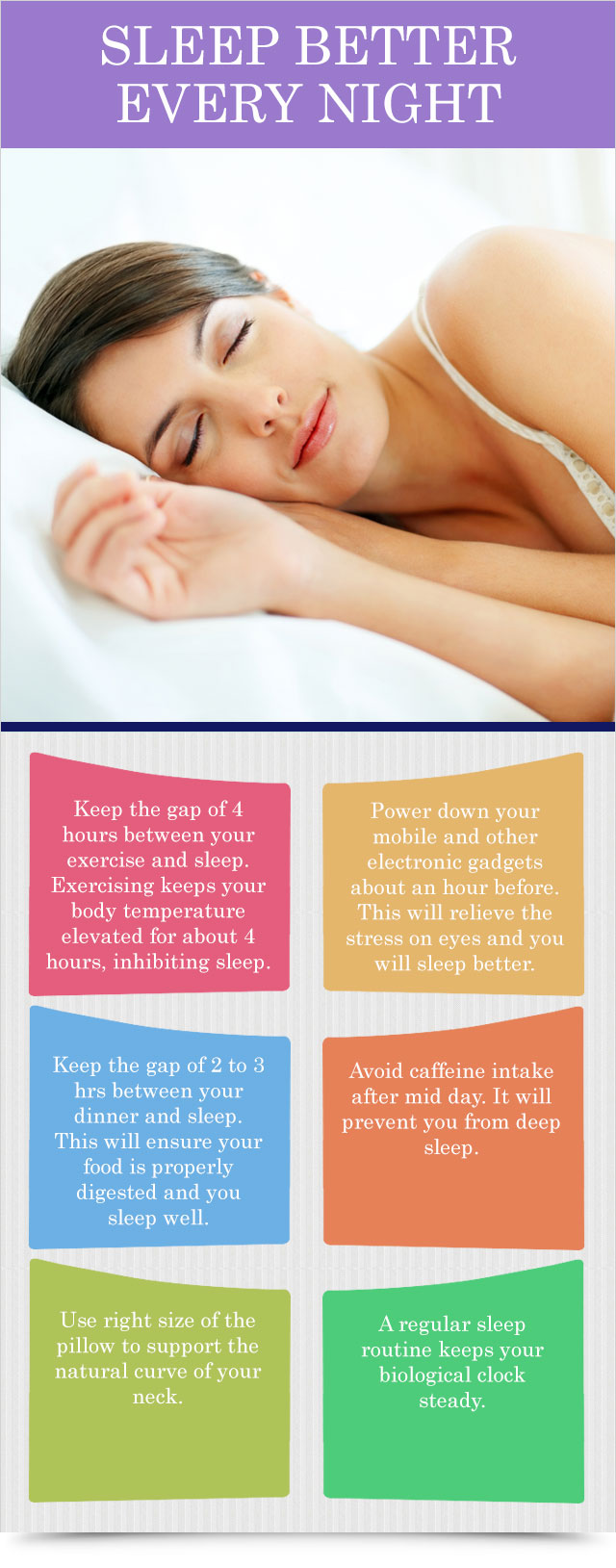 Sleep Better Every Night Tidbit Health Products For You