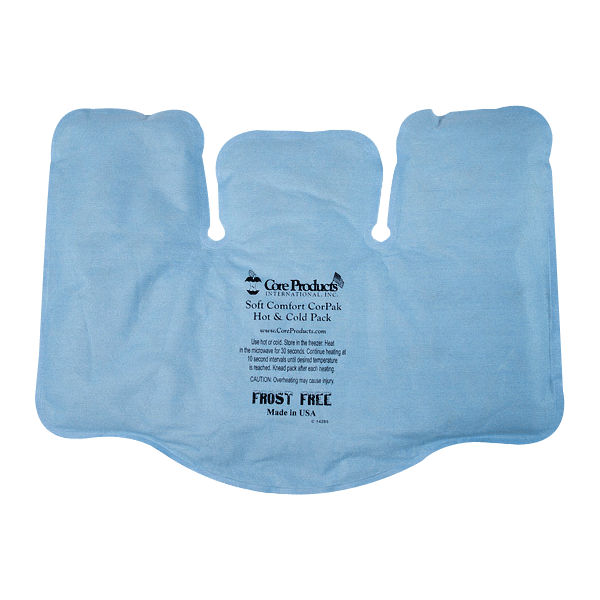 Core Soft Comfort CorPak Hot and Cold Therapy TriSectional Pack