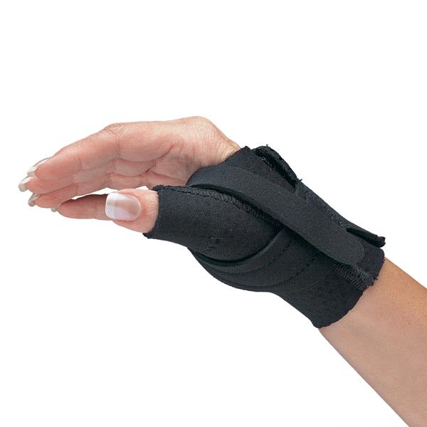 Comfort Cool Thumb CMC Restriction Splint - Black