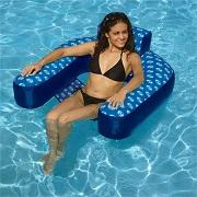 Swimline Solstice Designer Pool Loop Lounger