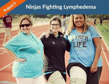 Ninjas Fighting Lymphedema