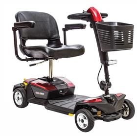 Pride Go-Go LX Four Wheel Travel Mobility Scooter With CTS Suspension