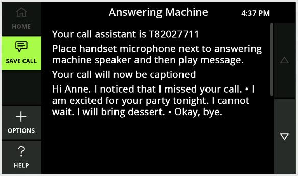 Steps to use a standalone answering machine with CaptionCall