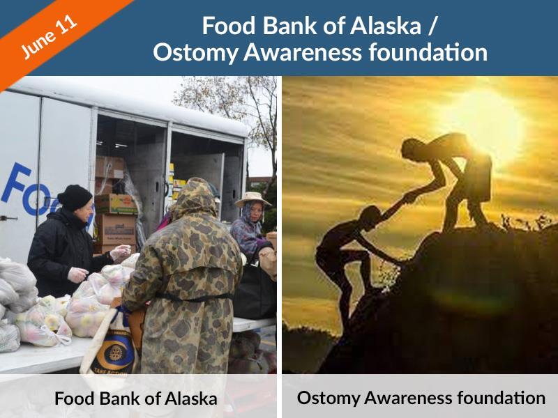 Food Bank of Alaska / Ostomy Awareness foundation