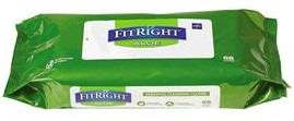 Medline FitRight Personal Cleansing Wipes