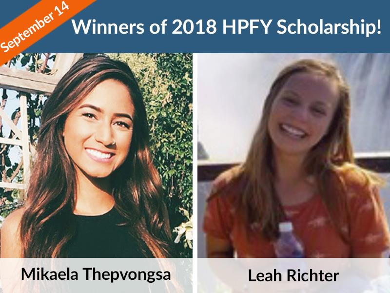 HPFY Scholarship 2018