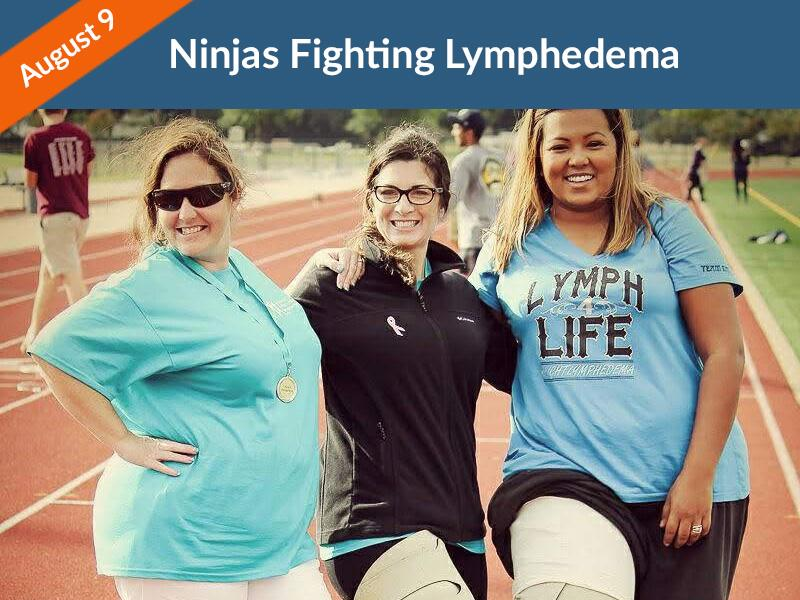 Ninjas Fighting Lymphedema