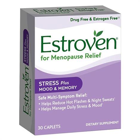 Estroven Stress Plus Mood And Memory Dietary Supplement