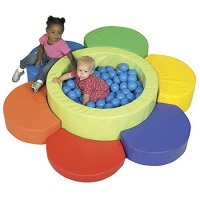 Childrens Factory Flower Petal Ball Pool