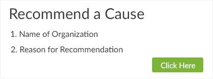 Recommend a Cause