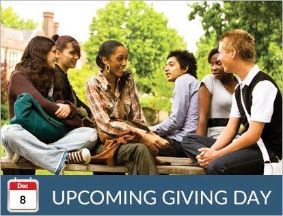 November 10, Upcoming Giving Day