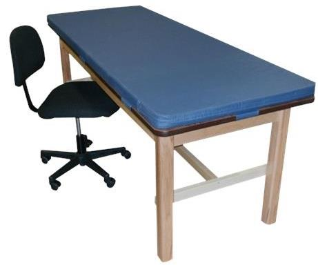 Bailey Classroom H-Brace Treatment Table with Removable Mat