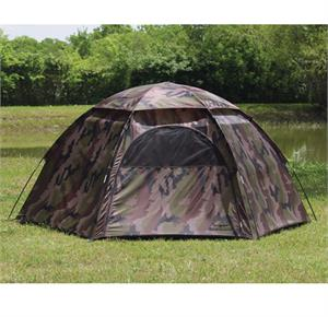 Texsport Camouflage 3 Person Hexagon Dome Tent