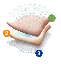 Allevyn Classic Adhesive Foam Dressing