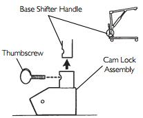 Base Shifter Handle Assembly