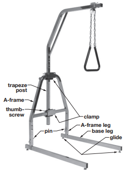 How to assemble Trapeze Floor Stand
