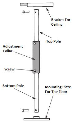 Sammons Preston Transfer Pole