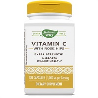 Natures Way Vitamin C with Rose Hips 1000 mg Dietary Supplement