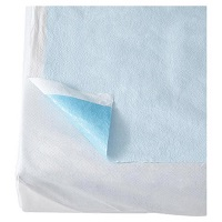 Medline Blue Tissue/Poly Drape Sheet