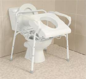 Uplift Technologies Commode Assist Self-Powered Lifting Commode Chair