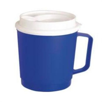 Medline Insulated Mug With Tumbler Lid