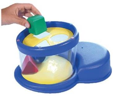 Drop-in-a-Bucket Cognitive Toy