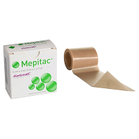 Molnlycke Mepitac Soft Silicone Tape