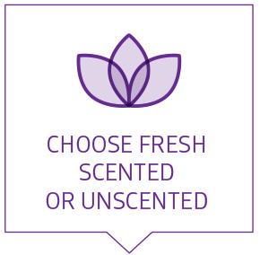 Choose Frest Scented or Unscented