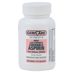 Mckesson Geri-Care Aspirin Pain Relief Tablets
