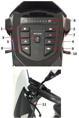 Cobra GT4 Control Panel