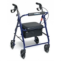 Graham-Field Lumex Walkabout Basic Four-Wheel Rollator