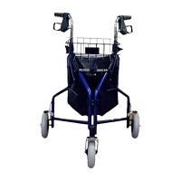 Karman Healthcare Tri Walker Three-Wheel Foldable Rollator
