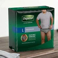 Depend Fit-Flex Incontinence Underwear For Men - Maximum Absorbency
