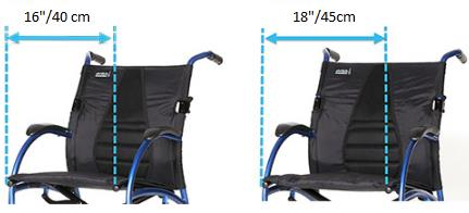 Strongback Comfort Wheelchair Dimensions