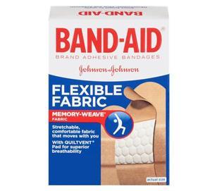 Johnson & Johnson Band-Aid Flexible Fabric Adhesive Bandage
