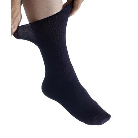 Silverts Half Crew Diabetic Socks For Men