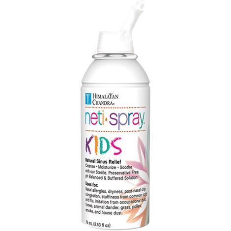 Himalayan Chandra Nasal Care Kids Saline Neti Spray