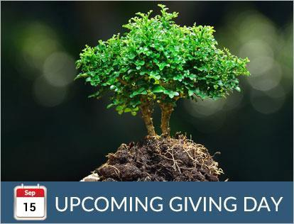 September 15, Upcoming Giving Day