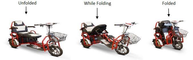 folding of scooter
