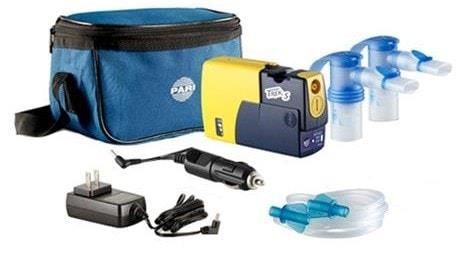 Breathe Better with Pari Trek S Portable Compressor Nebulizer Aerosol System